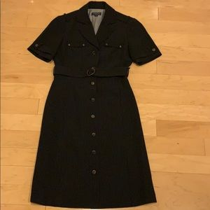 TAHARI suiting style shirt dress in size 2P